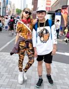 Katie Eary Top, YRU Platforms, Adidas & Nike in Harajuku