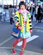 Colorful Harajuku Street Style w/ Galaxxxy Japan, 6%DOKIDOKI & Milklim