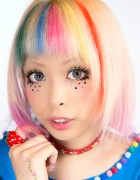 My Kawaii Style – Glitter Stars Eye Makeup Tutorial
