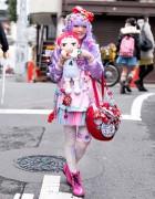 Kuroko's Basketball-loving Decora in Harajuku w/ 6%DOKIDOKI & Milklim