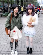Comme des Garcons Bomber Jacket w/ Nozomi Ishiguro & Toga in Tokyo