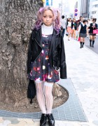 Kawaii Harajuku Style w/ Pink Twintails, Space Dress, Vivienne Westwood & Prada