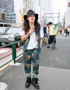 Li Lium's Studded Labrat x George Cox Creeper Boots in Harajuku