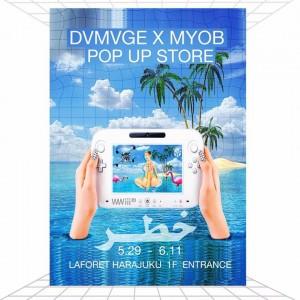 M.Y.O.B NYC x DAMAGE Popup Shop at LaForet Harajuku – May 29th to June 11th