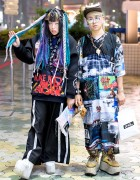 Harajuku Guys w/ MYOB NYC, DVMVGE, Devilish, OS Accessories & YRU