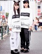 MYOB NYC x A.L.I.E.N. NYC Harajuku Street Styles w/ Supreme & Adidas