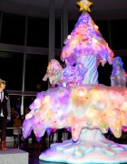 "Kawaii ""Melty Go-Round"" Christmas Tree Debuts at Roppongi Hills"