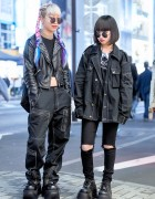 Dark Street Styles w/ Michiko London, Never Mind the XU & Angst Child in Harajuku