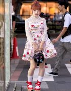 Kawaii Harajuku Street Style With Milk, Vivienne Westwood Rocking Horse Shoes & Baby The Stars Shine Bright