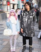 Kawaii Harajuku Fashion & Pink Hair vs. Black & White Style w/ Raf Simons