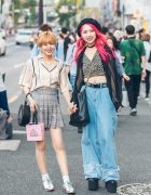 Harajuku Girls Denim, Leopard Print & Plaid w/ YRU, Chanel, Girls Rule & 3CE