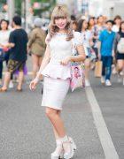 Harajuku Monster Cafe Girl in Kawaii Pastel Fashion w/ Honey Cinnamon, Neon Moon, & Online Shops