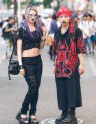 Dark Harajuku Street Styles w/ Barokue, Demonia, Killstar, Heartless, Bubbles & Vivienne Westwood
