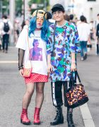 Eclectic Harajuku Street Fashion w/ Freak City, Gwen Stefani x Roukeys, Moschino, Funktique, M.Y.O.B., Pinnap & Current Mood