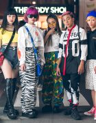 Harajuku Streetwear Styles w/ Faith Tokyo, M.Y.O.B., IKEA, Demonia, Joyrich, Kinji, Ellesse, Kobinai & Balmain