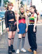 Harajuku Girls Streetwear by Dolls Kill, UNIF, Vidakush, Nakano Ropeway, Pinnap, Banny & Faith Tokyo