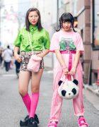 Colorful Harajuku Street Styles w/ WC, WEGO, Kinji, YRU, Spiral Toy, Candye Syrup & Junko Koshino