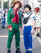 Harajuku Guys in Vintage Streetwear Looks w/ Vans, Adidas & Asics