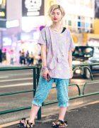 Mixed Prints Kawaii Harajuku Street Fashion w/ 6%DOKIDOKI, Lucky Daikichi & Tsumori Chisato