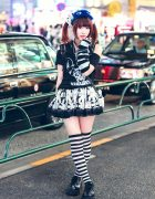Harajuku Goth Girl Street Style w/ HellcatPunks, Broken Doll, Glavil & Demonia