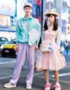 Pastel Harajuku Street Fashion w/ Happy Birthday To You, Creamy Ice, Grimoire Almadel, Kiki, Swimmer, Dream Land, Polly Pocket & Junk Show