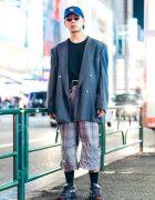 Kinji Harajuku Staff in Streetwear Style w/ Raf Simons, Balenciaga, Yohji Yamamoto & Nike Air