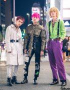 Harajuku Mens Streetwear Styles w/ Comme des Garcons, Gucci, Takeo Kikuchi, Remake & Vintage Fashion