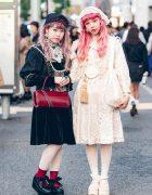 Vintage & Antique Harajuku Street Styles w/ Anutrof, Barrack Room, Gunne Sax, Freckleat, Grimoire & Tokyo Bopper