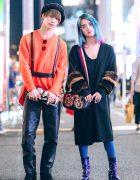Toman & Sadao's Colorful Minimalist Street Styles w/ Kawi Jamele, Limi Feu, Gucci & Vivienne Westwood