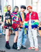 Harajuku Friends in Colorful Streetwear w/ Nieuw Jurk, Little Sunny Bite, Supreme & Moschino