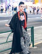 Japanese Streetwear w/ Kimono Coat, Peco Club, WC Harajuku, Chicago Tokyo & Romantic Standard