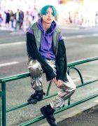 Japanese Streetwear Style w/ Comme des Garcons, Yohji Yamamoto, Avalone & Nekedi Sneakers