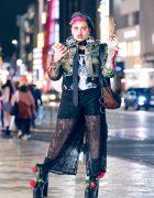 Avant-Garde Harajuku Street Style w/ Kotomi Yoshida, WC, Pameo Pose, Syro, Moschino & M.Y.O.B.