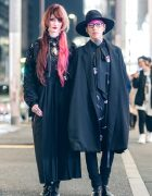 Dark Harajuku Street Fashion w/ Madaraningen, UNIF, Oz Abstract, Kazetaka & Lad Musician