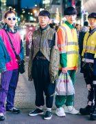 Harajuku Guys in Japanese Streetwear Styles