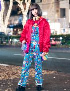 Kawaii Harajuku Overalls Fashion w/ Kinji, Spinns, Grand Ground, Yosuke & Spiral Toy Shop