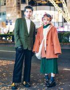 Harajuku Duo in Minimalist Street Styles w/ Littlebig, Essay, Bukht & Jimmy Choo