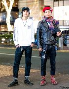 Harajuku Punks Streetwear Styles w/ BlackMeans, Dr. Martens, Vivienne Westwood & Leica