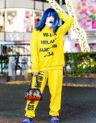 Shoushi's Harajuku Streetwear Style w/ WIA, Current Mood, Fenty & Diminish