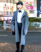Monochromatic Androgynous Streetwear Style w/ Issey Miyake Homme Plisse, Uniqlo & Yohji Yamamoto