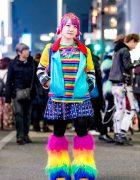 Colorful Kawaii Vintage Streetwear Style w/ Galaxxxy, WC, Fjallraven Kanken, WEGO & Romantic Standard