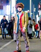 Harajuku Mixed-Prints Streetwear w/ Yves Saint Laurent, Paul Smith & Gucci