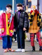 Harajuku Street Styles w/ W&LT, Vivienne Westwood, Puma, Reebok, Comme des Garcons, Nike Air, Carhartt & Dr. Martens