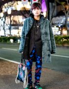 Harajuku Vintage & Handmade Streetwear Style w/ Kenzo, Diesel, Raf Simons & 99%IS-