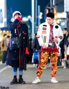 Tokyo Streetwear Styles w/ Orange Camo Pants, Ambush Coat, Chanel Bag & Y-3 Shoes