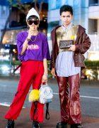 Fun Harajuku Boys Streetwear Styles w/ Barbie Cropped Tee, Gold Vest, Esc Studio, Faith Tokyo & Never Mind the XU