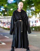 Japanese Model & Musician in Yohji Yamamoto & Comme des Garcons Tokyo Streetwear Style