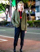 Minimalist Tokyo Menswear Street Style w/ LittleBig, Sub-Age & Acne Studios