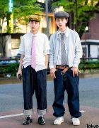 Retro Street Styles in Harajuku w/ Neat, Maison Kitsune, Vaquera & TokyoHumanExperiments