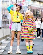 Kawaii Harajuku Street Styles w/ Peco Club, Lazy Oaf, Oh Pearl, Spinns & Yosuke